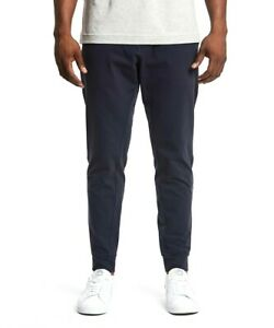PUBLIC REC Men's ALL DAY EVERY DAY JOGGERS Stretch Pants Navy Blue 38/36
