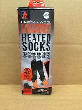Action Heat 5 volt  Rechargeable Wool Heated Socks S/M