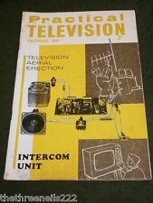 PRACTICAL TELEVISION - INTERCOM UNIT - DEC 1966