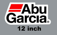 "12"" Abu Garcia Quality Decal Sticker Tackle Box Lure Fishing Boat Truck trailer"