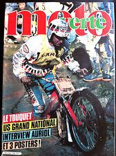 >MOTO VERTE n°108; Le Touquet/ Us Grand National/ Interview Auriol/ Orléans-Toul