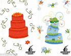 Lot of 4  Charm City Cakes Mrs. Grossman Stickers Scrapbooking