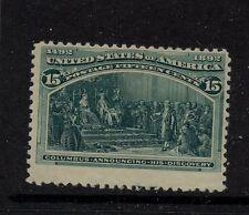 Us 238 Mint Nh catalog $700.00 Rl1209-41