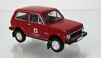 MCZ 03 109 Lada NIVA rot Modell 1976 VEB BMK Kohle und Energie Hoyerswerda 1 87