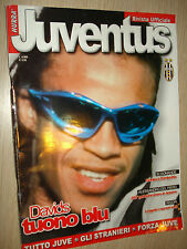 Vive Boy' Juventus FC N°4 (135) Avril 2000 Davids Tuono Bleu