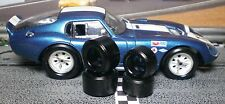 """XPG"" URETHANE SLOT CAR TIRES 2pr PGT-21124 Extra Lg fit MONOGRAM Cobra Daytona"