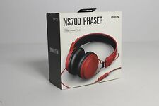 Nocs NS700 Phaser Headphones in Red BRAND NEW FACTORY SEALED  PALE RED APPLE