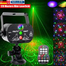 128 Muster RGB UV Projektor USB LED DJ Bühnenbeleuchtung Partylicht Disco