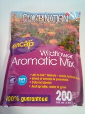 Encap 200 sq ft Wildflower Aromatic Mix Combination Seed / Mulch