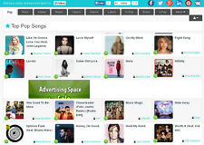 MP3 Music Search Engine Website For Sale