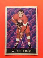 Pete Goegan 1961-62 Parkhurst Hockey Card #23  Detroit Red Wings