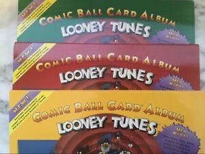 1991 Looney Tunes Upper Deck Comic Ball Card Albums 1, 2 and 3. Includes all 3