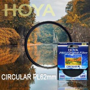 Digital CIRCULAR Polarizer Camera Lens Filter for SLR Camera HOYA 62mm Pro1 CPL