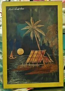 Straw and Sawdust Arts Wall Hanger Pictures Home Décor Free Shipping Sri Lanka