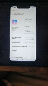 Xiaomi Pocophone F1 - 128 GB - Graphite Black (Unlocked)