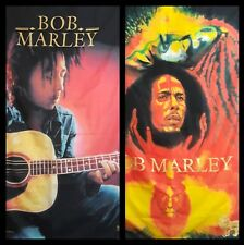 Two 30 X 40 Poly Bob Marley Wall Hanging Poster Size Boho Decor Made Italy