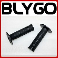 BLACK Soft 24mm 22mm Handle Bar Hand Grips 50cc 110cc 125cc PIT Trail Dirt Bike