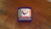 Taxco Mexico Sterling Silver Heart Cuff Bracelet ~ 64 Grams
