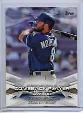 2018 Topps Mike Moustakas MLB Awards Insert Card