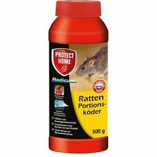 Ph Ratten 500g Rodicum Appât Portions Poison Lutte Contre Maison Hangar Garage