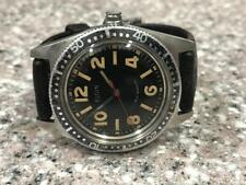 VINTAGE 1960s SWISS MADE ELGIN CANTEEN DIVERS AUTOMATIC WATCH.