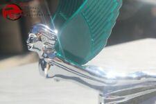 12 Volt Green Winged Lit Lighted Flying Godess Angel Custom Truck Hood Ornament