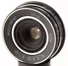 Industar-69 28mm f2.8 USSR pancake wide Objektive lens M39 2.8 MMZ LOMO Chaika