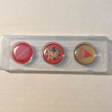3 Beer Logo Caps for Draftmark Home Tap System Budweiser Bass & Shock Top NIP