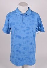 2016 NWT MENS ELEMENT FREDDIE POLO SHIRT $35 M fleet blue slim fit classic