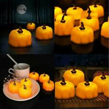 LED Pumpkin Lights Flickering Night Light Home Halloween Party Decoration Hot