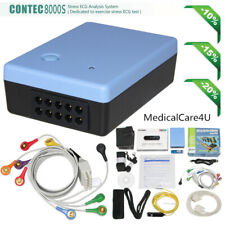 Contec8000s Stress Ecg Analysis Systems Wifi Exercise Ekg Test 12 Leads Software