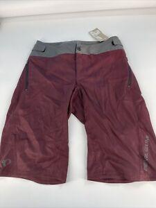Pearl Izumi Men's Shorts Divide Shell Size 32 Brown #56