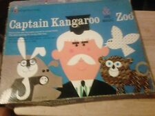 VTG 1960 COLORFORM CAPTAIN KANGAROO & HIS MAGIC ZOO COLORFORMS IN BOX COMPLETE