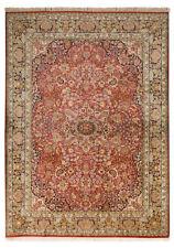 Tapis rouge persane/orientale traditionnelle pour le couloir
