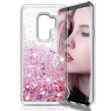 COVER Custodia Glitter Morbida Silicone STRASS per Samsung Galaxy S9 PLUS Rosa