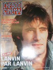 L'hebdo cinéma N° 20 Gérard Lanvin George Roy Hill Charlotte Silvera Thévenet