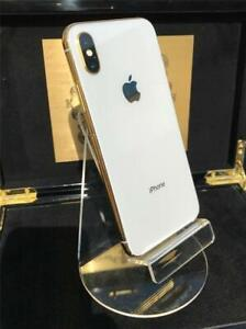 Apple iPhone  - 256GB - Silver (Unlocked) A1901/ 24kt White & Gold Edition