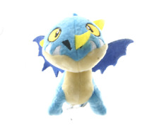 "BRAND NEW 5"" HOW TO TRAIN YOUR DRAGON DEADLY NADDER BAG CLIP PLUSH SOFT TOY"