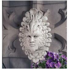 VENETIAN CARNIVALE WALL GREENMAN FEATHERED FACE SCULPTURE Italian Mask Art Gift