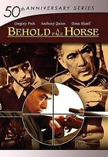 BEHOLD A PALE HORSE~GREGORY PECK & ANTHONY QUINN~NEW, SEALED DVD WITH SLIP COVER