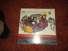 J.S. BACH CANTATA NO 4 and 182 Very RARE LP RECORD - 1966 -  EX / VG