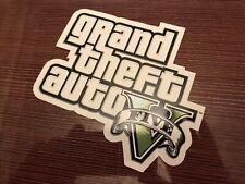 $$$$$$ GRAND THEFT AUTO V / 5 LOGO STICKER $$$$$$ ROCKSTAR GAMES $$$$$$
