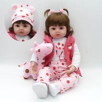 55cm Reborn Baby Dolls Girl Toddler Toys Newborn Child Realistic Girls Gift Toys