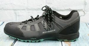 Bontrager Inform Womens Gray Lace-up Cycling Shoes Sneakers Size 8.5