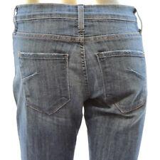 James Jeans Womens Dry Aged Denim Stretch Jeans Medium Wash Blue Boot Cut Sz 29