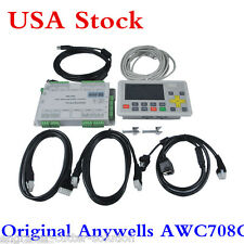 USA Anywells AWC708C LITE Laser Controller System for CO2 Laser Cutter /Engraver