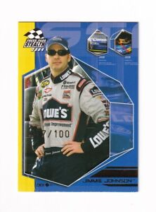 2004 Stealth X-RAY NUMBERED PARALLEL #EB7 Jimmie Johnson #077/100! SCARCE!