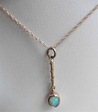 Vintage Opal Pendant - 9ct