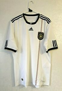 GERMANY 2010 2011 ADIDAS HOME FOOTBALL SOCCER SHIRT JERSEY SIZE L