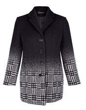 Woll Mantel Wintermantel Damen Trench Warm Mantel Jacke Winterjack Größe 44 NEU